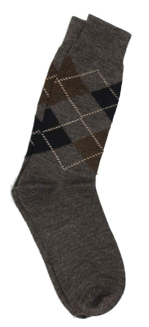 Romano nx Men's Winter 100% Wool Socks in 3 Colors romanonx.com Brown