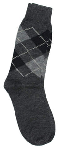 Romano nx Men's Winter 100% Wool Socks in 3 Colors romanonx.com Dark Grey