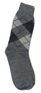 Romano nx Men's Winter 100% Wool Socks in 3 Colors romanonx.com Light Grey