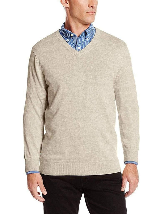 Romano nx Mens Wool Pullover Sweater in 20 Colors romanonx.com Beige L
