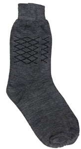 Romano nx Men's Wool Socks in 2 Colors romanonx.com Grey