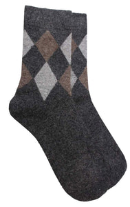 Romano nx Men's Wool Socks in 3 Colors romanonx.com Dark Grey