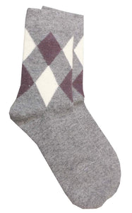 Romano nx Men's Wool Socks in 3 Colors romanonx.com Light Grey