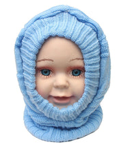 Load image into Gallery viewer, Romano nx Soft Woollen Monkey Cap for Kids in 14 Colors romanonx.com Basic Blue
