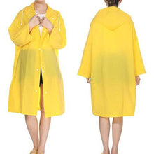 Load image into Gallery viewer, Romano nx Waterproof Transparent Rain Overcoat for Women romanonx.com