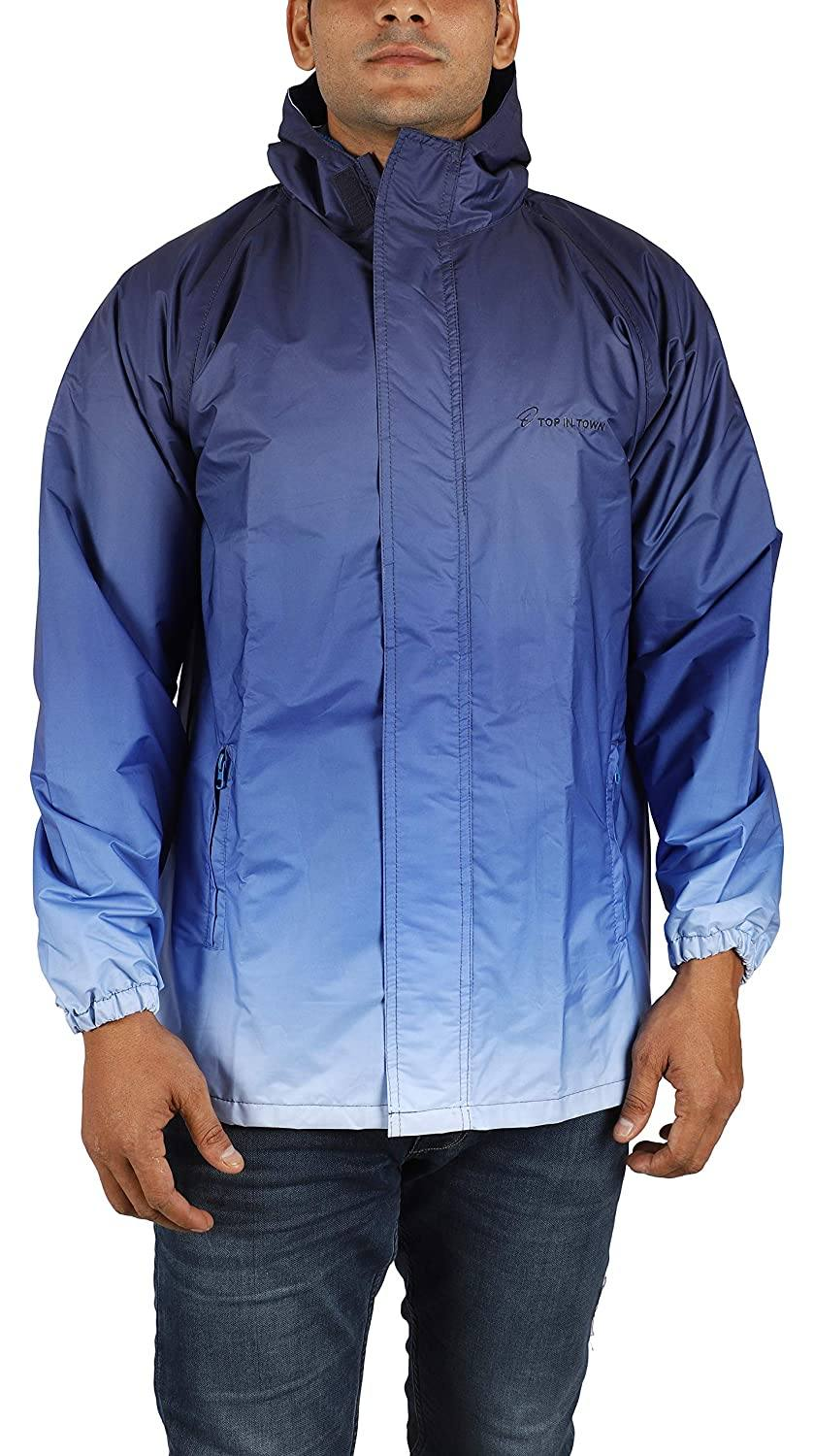 Romano nx Waterproof Trendy Rain Jacket for Men romanonx.com