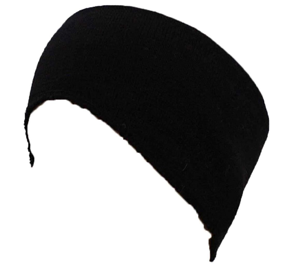 Romano nx Winter Wool Ear Cover Band in 4 Colors romanonx.com Awesome Black