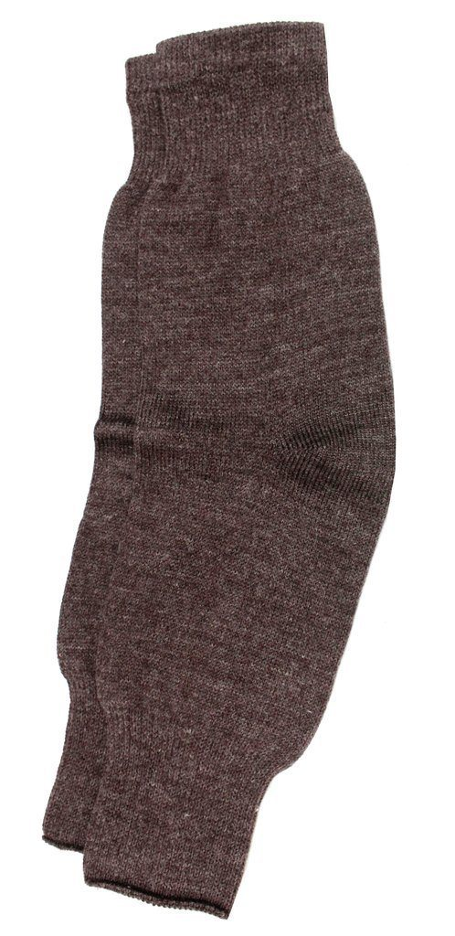Romano nx Women's 100% Wool Warm Protective Knee Cap (Pair) in 3 Colors Apparel Romano Brown