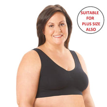 Load image into Gallery viewer, Romano nx Women's 2-Pack Seamless Wireless Sports Bra with Removable Pads romanonx.com