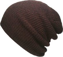 Load image into Gallery viewer, Romano nx Women's Beanie Cap in 22 Colors romanonx.com Brown B