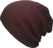 Load image into Gallery viewer, Romano nx Women's Beanie Cap in 22 Colors romanonx.com Burgundy C