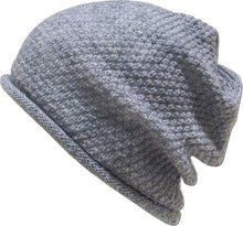 Load image into Gallery viewer, Romano nx Women's Beanie Cap in 22 Colors romanonx.com Light Grey B
