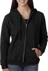 Romano nx Women's Cotton Hooded Sweatshirt in 6 Colors romanonx.com Black 3XL
