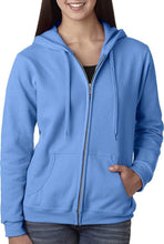 Load image into Gallery viewer, Romano nx Women's Cotton Hooded Sweatshirt in 6 Colors romanonx.com Cool Blue 3XL