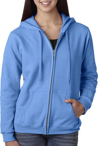 Romano nx Women's Cotton Hooded Sweatshirt in 6 Colors romanonx.com Cool Blue 3XL