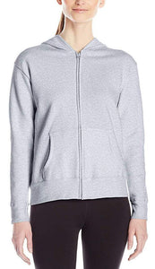 Romano nx Women's Cotton Hooded Sweatshirt in 6 Colors romanonx.com Grey Melange 3XL