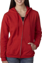 Load image into Gallery viewer, Romano nx Women's Cotton Hooded Sweatshirt in 6 Colors romanonx.com Red 3XL