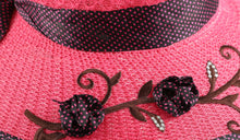 Load image into Gallery viewer, Romano nx Women's Hat (Dark Pink) romanonx.com