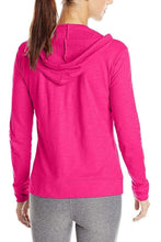 Load image into Gallery viewer, Romano nx Women's Hot Pink Cotton Hooded Sweatshirt romanonx.com