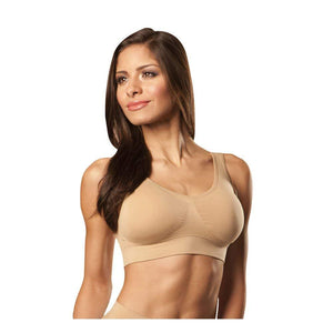 Romano nx Women's Seamless Wireless Sports Bra with Removable Pads romanonx.com