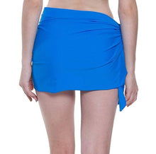 Load image into Gallery viewer, Romano nx Women's Solid Wrap Around Swim Skirt in 8 Colors romanonx.com