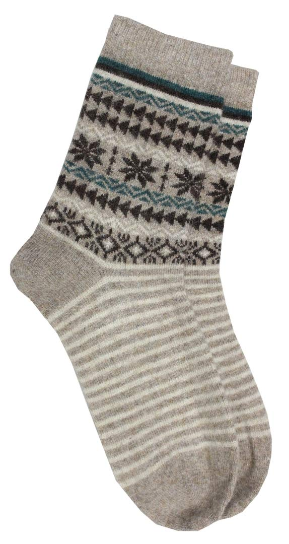Romano nx Women's Warm Wool Socks in 4 Colors romanonx.com Beige