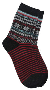 Romano nx Women's Warm Wool Socks in 4 Colors romanonx.com Black