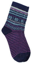 Load image into Gallery viewer, Romano nx Women's Warm Wool Socks in 4 Colors romanonx.com Blue