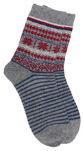 Load image into Gallery viewer, Romano nx Women's Warm Wool Socks in 4 Colors romanonx.com Light Grey