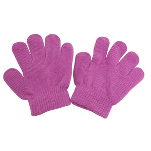 Romano nx Wool Gloves for Baby Boy's & Girl's in 9 Colors romanonx.com Awesome Pink