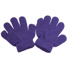 Load image into Gallery viewer, Romano nx Wool Gloves for Baby Boy's & Girl's in 9 Colors romanonx.com Purple