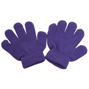 Romano nx Wool Gloves for Baby Boy's & Girl's in 9 Colors romanonx.com Purple