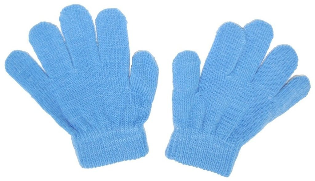 Romano nx Woolen Gloves for Girl's & Boy's in 9 Colors romanonx.com Blue