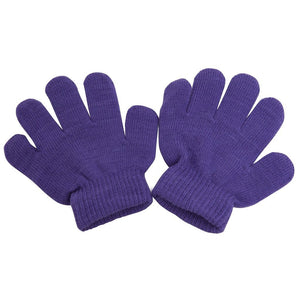 Romano nx Woolen Gloves for Girl's & Boy's in 9 Colors romanonx.com Purple