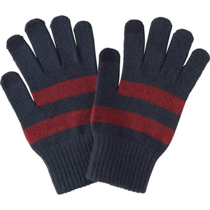 Romano nx Woolen Gloves for Men in 4 Colors Apparel Romano AwesomeNavy with Maroon