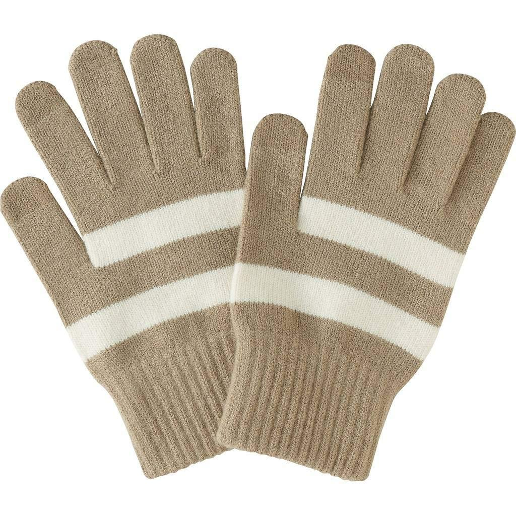 Romano nx Woolen Gloves for Men in 4 Colors Apparel Romano Beige with White