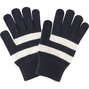 Romano nx Woolen Gloves for Men in 4 Colors Apparel Romano Navy with White