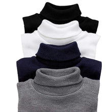 Load image into Gallery viewer, Romano nx Woolen Neck Warmer for Men (Pack of 4) Apparel Romano Black White Grey Navy