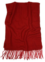 Load image into Gallery viewer, Romano nx Woolen Winter Muffler for Men in 26 Colors romanonx.com Cranberry Red