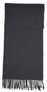 Romano nx Woolen Winter Muffler for Men in 26 Colors romanonx.com Grey Flannel