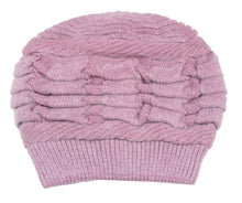 Load image into Gallery viewer, Romano nx Woollen Cap for Women in 3 Colors romanonx.com w15_b
