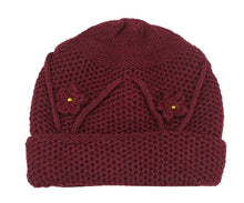 Load image into Gallery viewer, Romano nx Woollen Cap for Women in 3 Colors romanonx.com w6_b