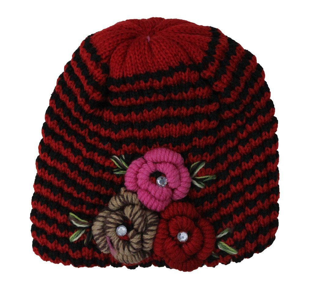 Romano nx Woollen Cap for Women in 4 Colors romanonx.com w2_a