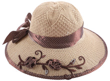 Load image into Gallery viewer, Romano Women's Hat romanonx.com Brown Free Size