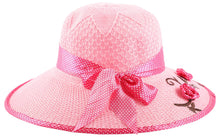 Load image into Gallery viewer, Romano Women's Hat romanonx.com Pink Free Size