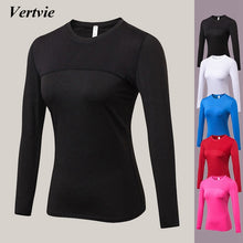 Load image into Gallery viewer, Women Long Sleeve Quick Dry Sports Top