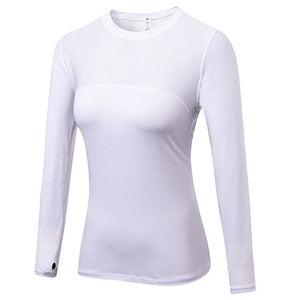 Women Long Sleeve Quick Dry Sports Top