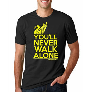 Fashion Liverpool T Shirt YNWA Mens