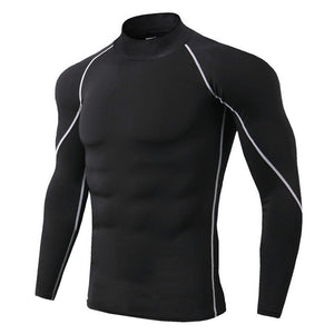 New Long Sleeve Quick Dry Sports Top for Men