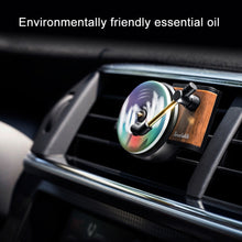 Load image into Gallery viewer, Car Air Freshener Turntable Phonograph with 3pcs Aromatherapy Tablets Record Player